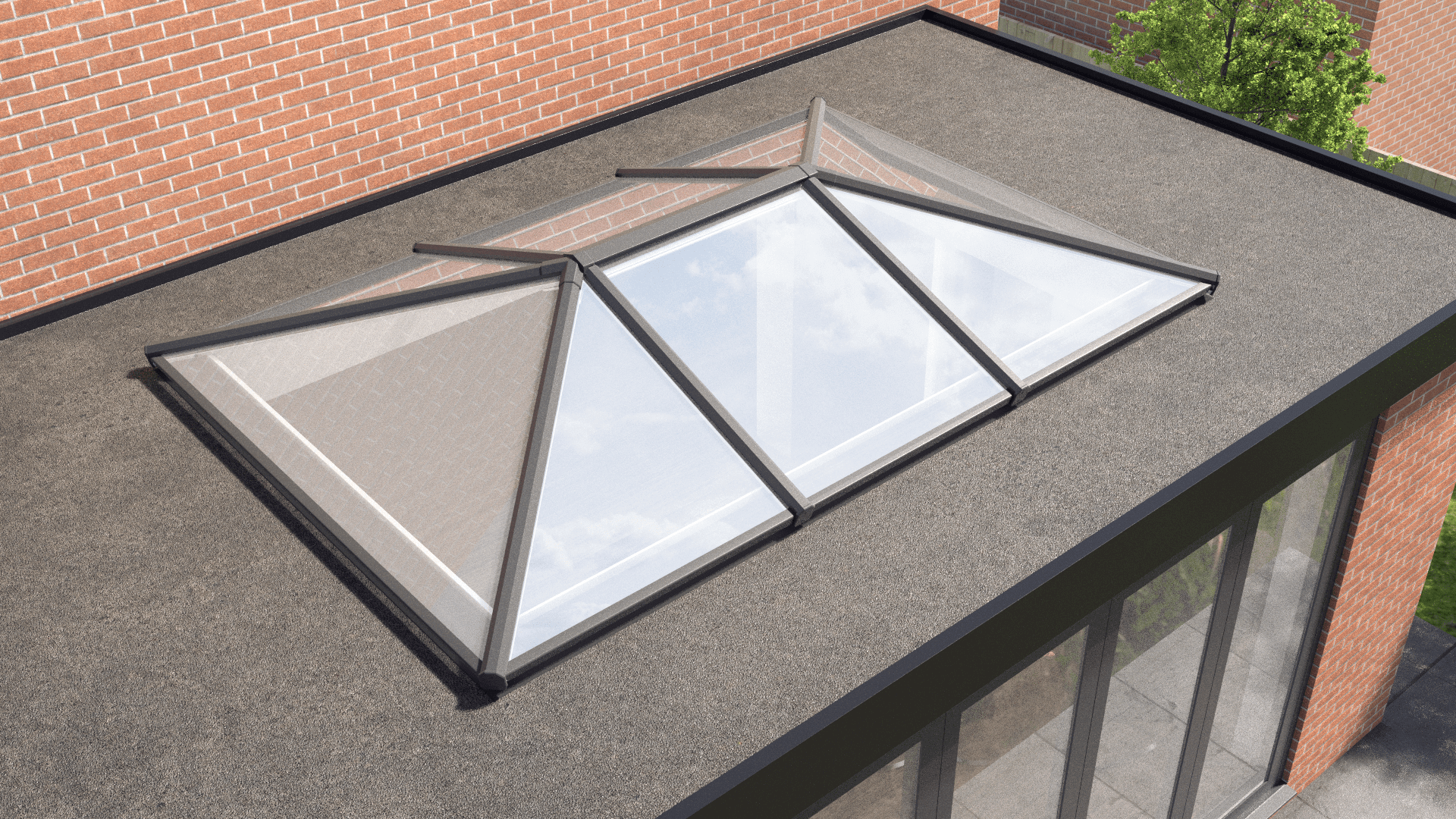 aluminium roof lanterns prices stoke-on-trent