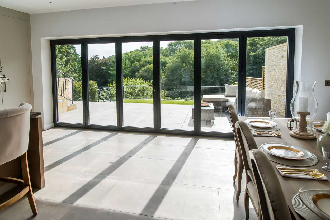 aluminium bi-fold door price stoke-on-trent