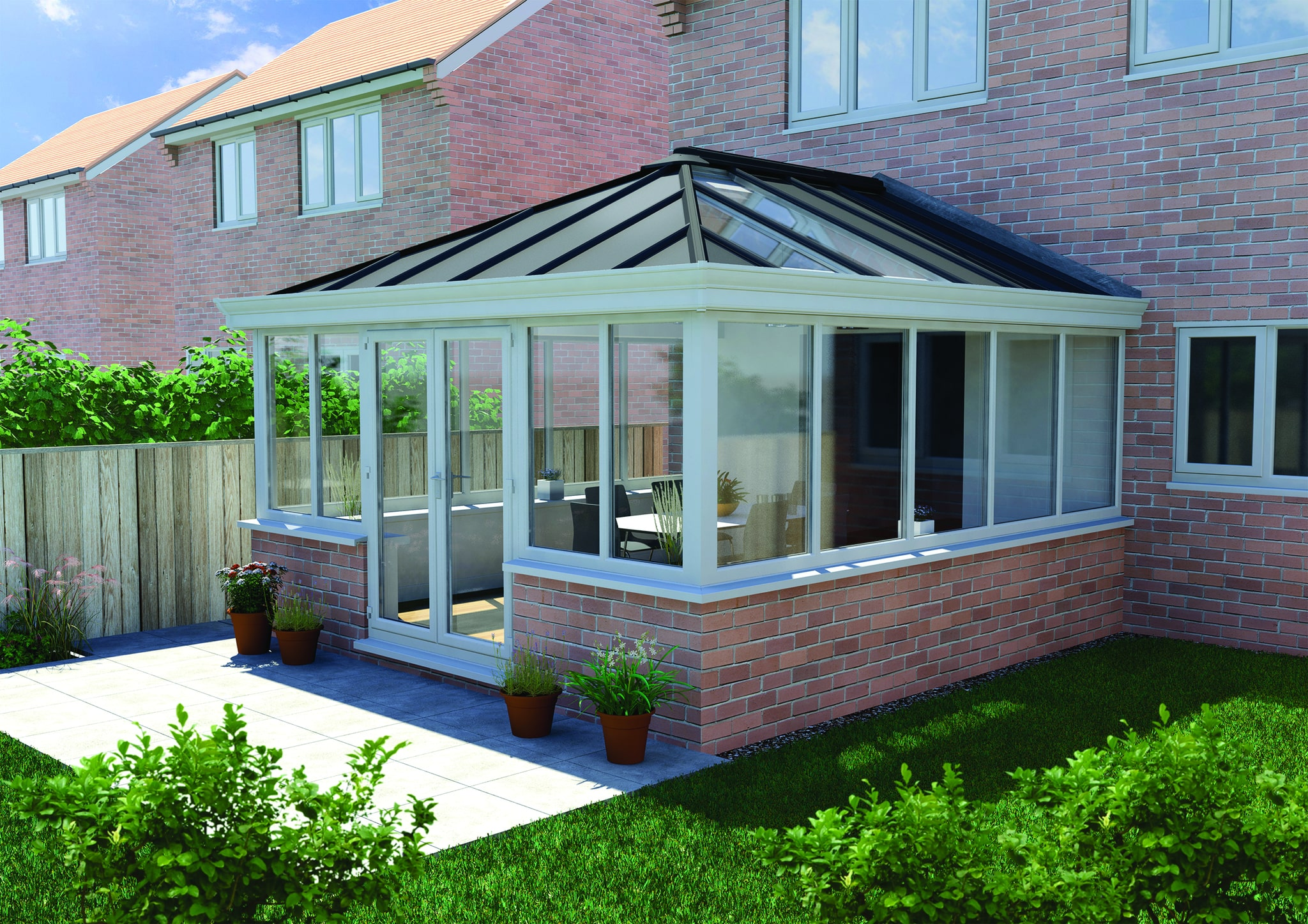 solid conservatory roof prices stoke-on-trent